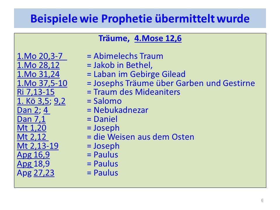 Christus allein In der Prophetie ist nicht Israel oder die Nationen oder die Versammlung der Gegenstand an dem sich alles misst, sondern Christus allein.