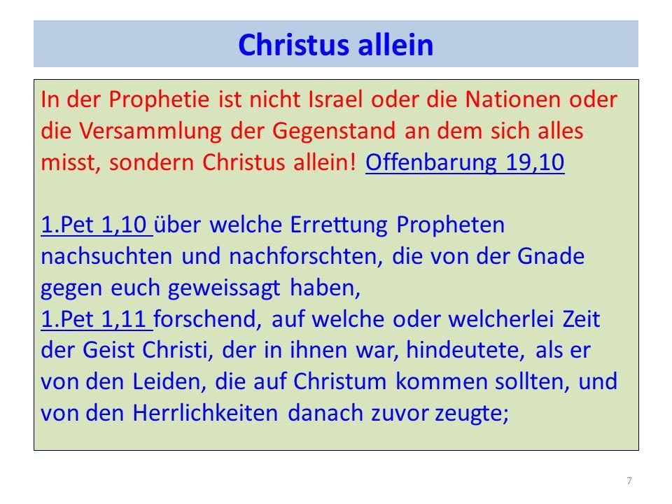 Wenn / dann Prophetie 1.3. Mo 26 = Segen und oder Fluch3.