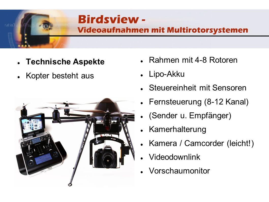 Technische Aspekte verschiedene Hersteller...