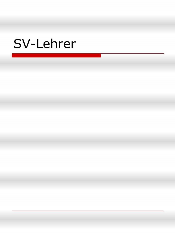 SV-Lehrer