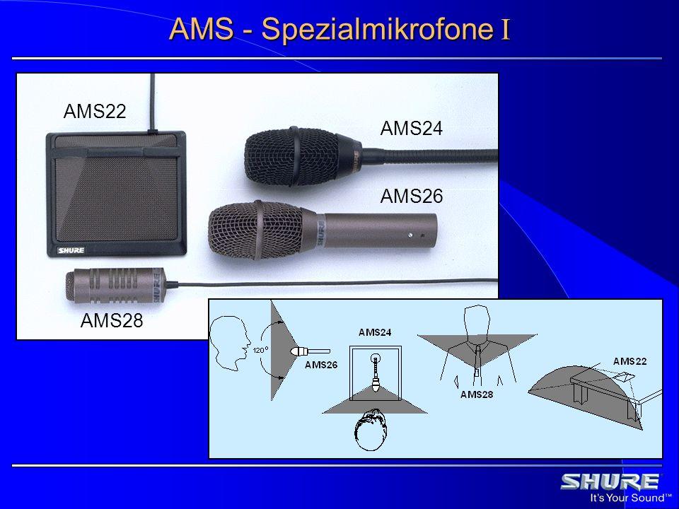 AMS - Spezialmikrofone I AMS24 AMS26 AMS28 AMS22