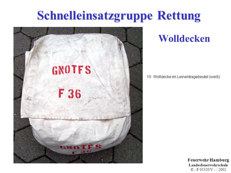 Schnelleinsatzgruppe Rettung Krankentragengestell (Leihgabe JUH) 2 Lagerungsgestell Krankentrage Feuerwehr Hamburg Landesfeuerwehrschule © - F 05320/V - / 2002