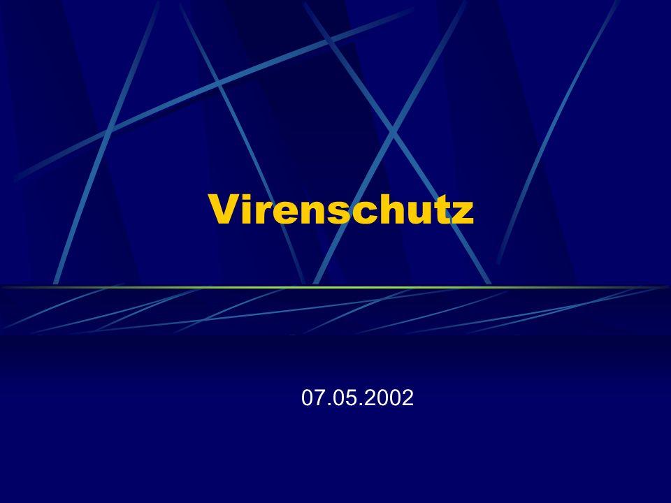 Virenschutz 07.05.2002