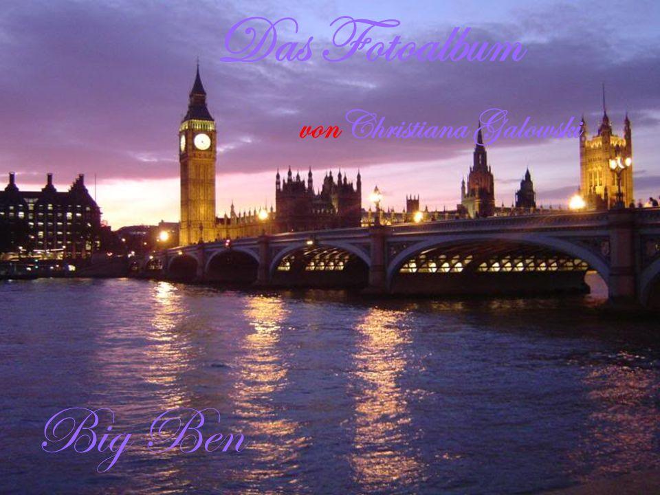 Ich war in England. Ich war vierJahre alt. The London Eye