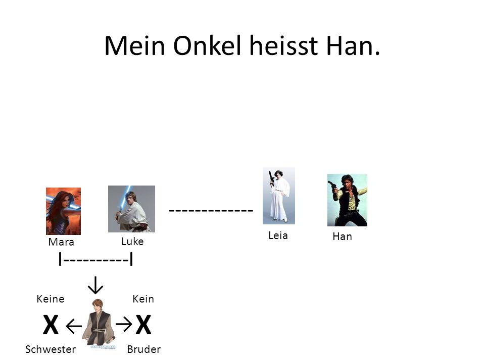 Onkel Han und Tante Leia haben 3 Kinder.