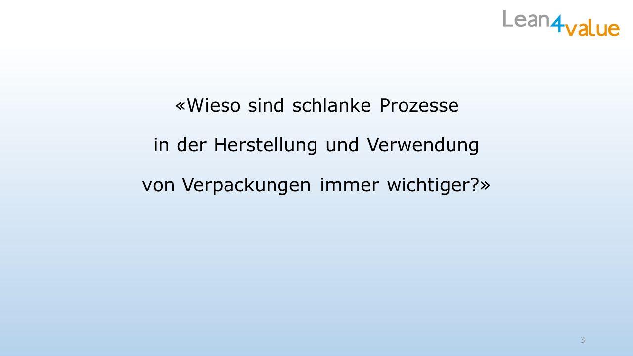 Resultat nach 1 Woche intensiver Lean Projektarbeit Der Kunde konnte den Auftrag (Reingewinn von Euro 100000) annehmen.