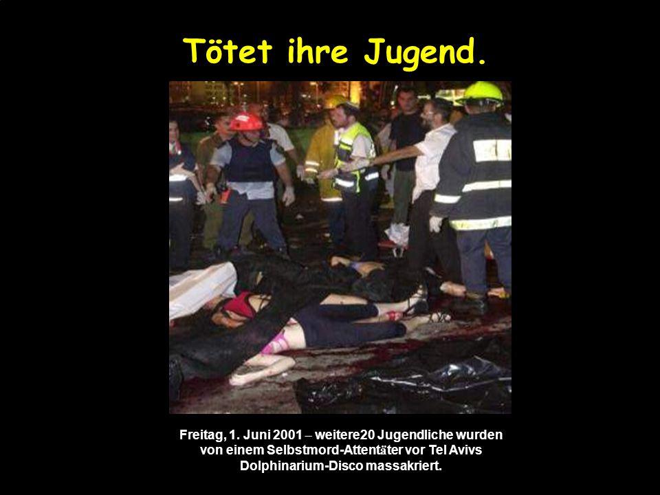 Tötet ihre Familien. 2. M ä rz 2002 – Shlomo und Gafnit Nehmad und ihre T ö chter Shiraz (7) und Liran, get ö tet im Selbstmordanschlag von Beit Israe