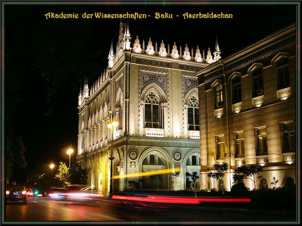 Akademie der Wissenschaften - B B B Baku - Aserbaïdschan