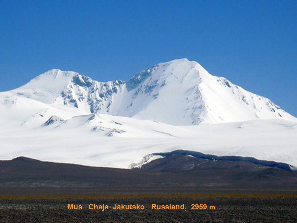 Klutschewskaja sopka Kamtschatka, 3342 m