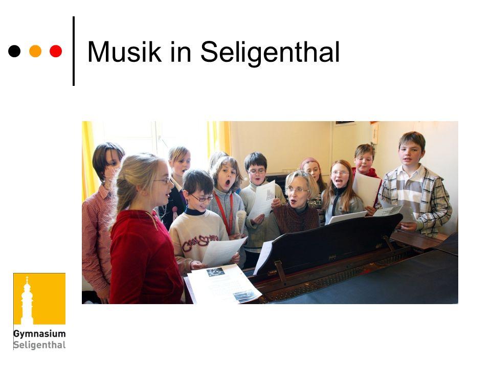 Musik in Seligenthal