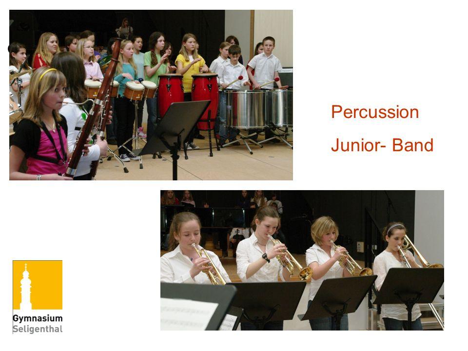 Percussion Junior- Band
