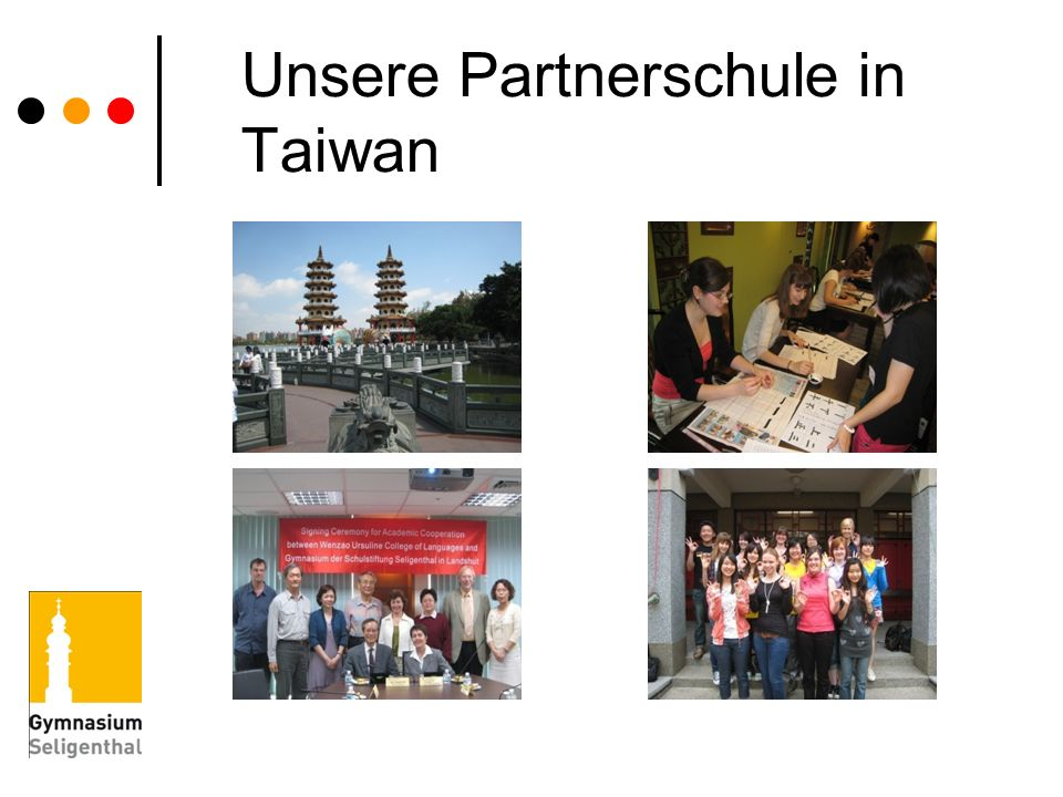 Unsere Partnerschule in Taiwan