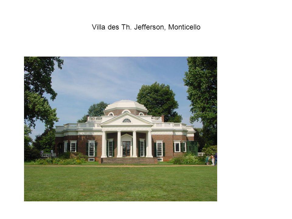 Villa des Th. Jefferson, Monticello