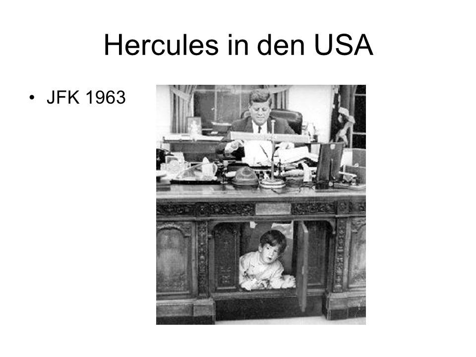 Hercules in den USA JFK 1963