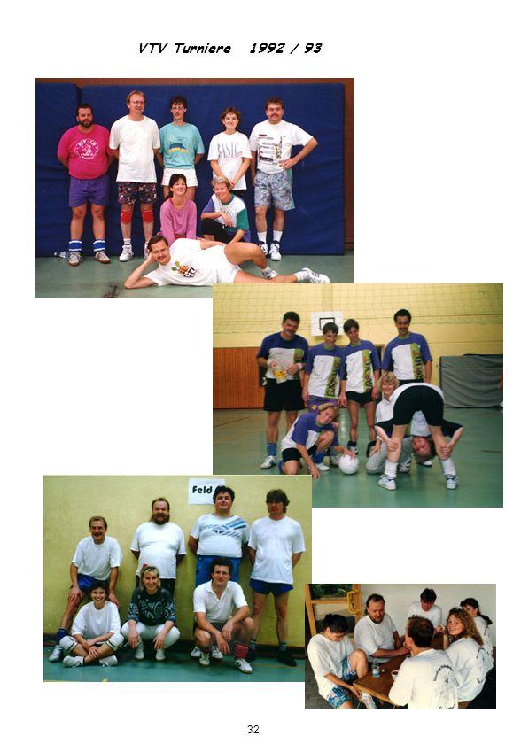 VTV Turniere 1992 / 93 32