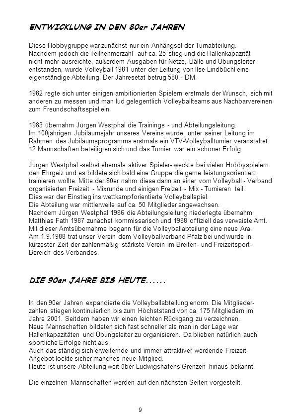 Gauturnfeste............. Freizeitler 1997 Gauturnfest 1995 Gauturnfest 30