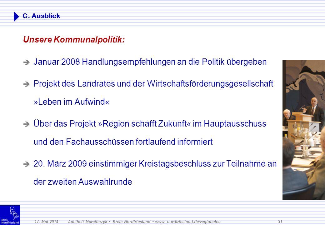 17.Mai 2014Adelheit Marcinczyk Kreis Nordfriesland www.