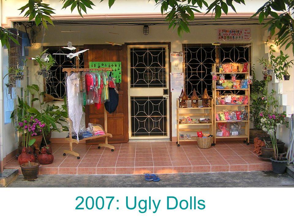2007: Ugly Dolls