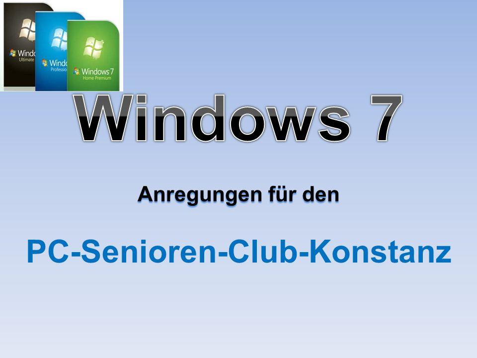 Anregungen für den PC-Senioren-Club-Konstanz
