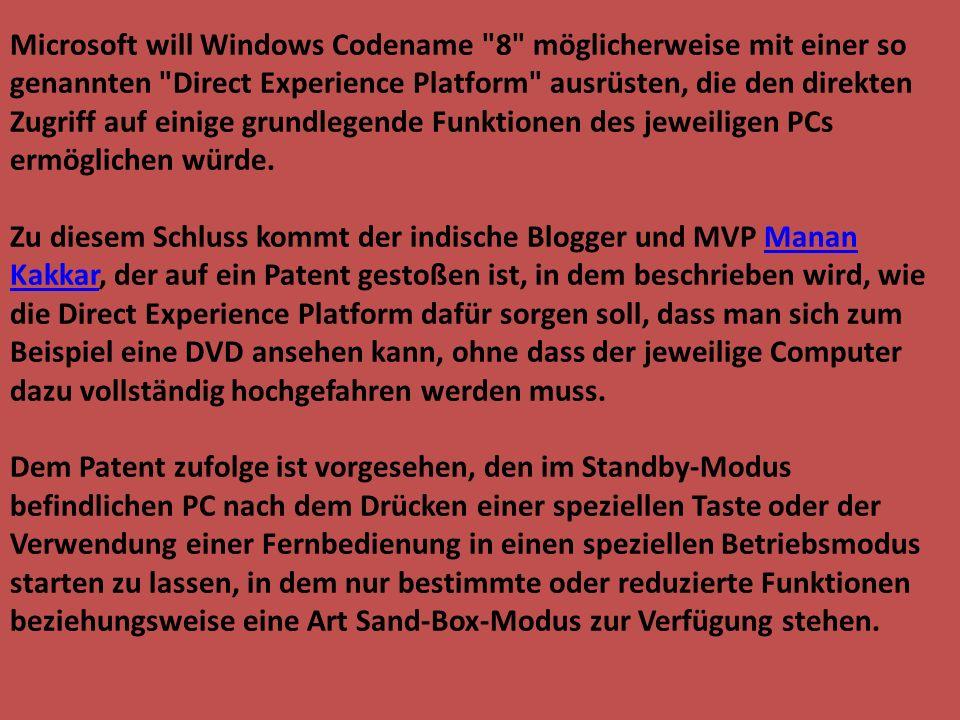 Microsoft will Windows Codename