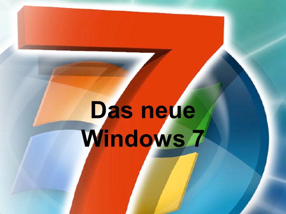 Das neue Windows 7