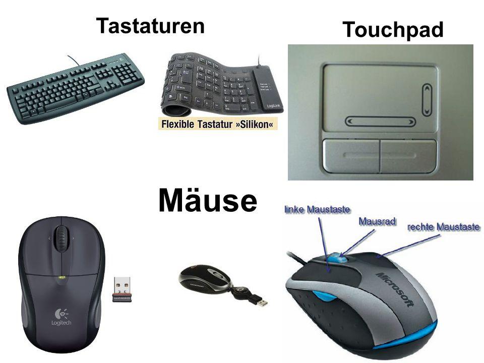 Tastaturen Mäuse Touchpad