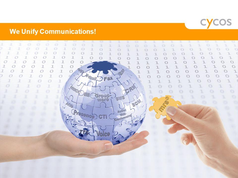 cycos AG Unternehmenspräsentation 2009