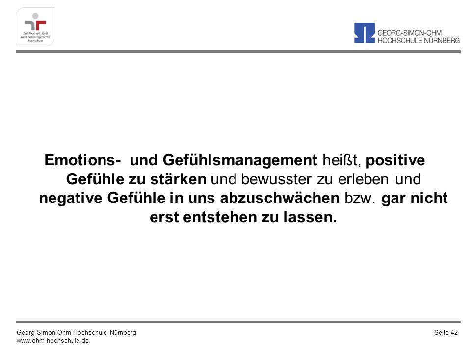 Emotions- und Gefühlsmanagement heißt, positive Gefühle zu stärken und bewusster zu erleben und negative Gefühle in uns abzuschwächen bzw.