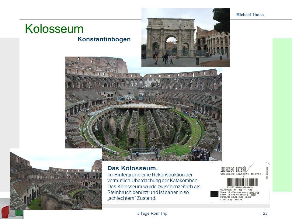 Michael Thoss 3 Tage Rom Trip24 Unterwegs… Via Nazionale …vom Platz der Republik zum Kapitol (im Hintergrund sichtbar)