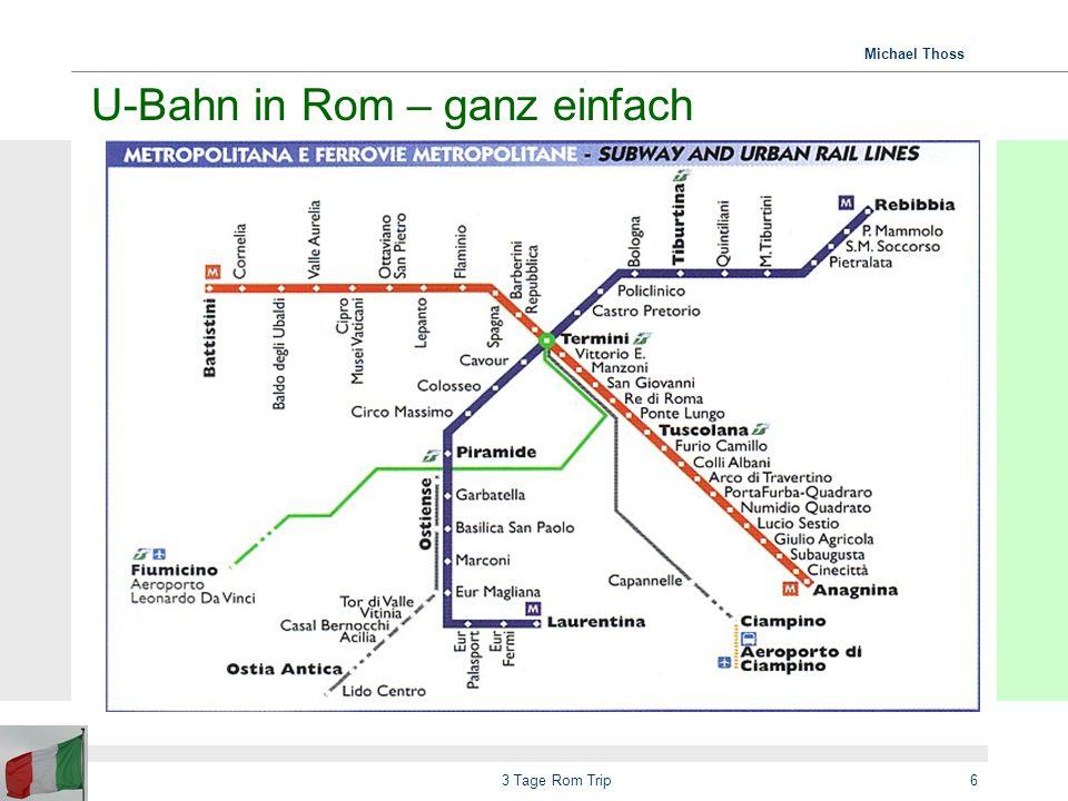 Michael Thoss 3 Tage Rom Trip7 GANZ wichtige Tipps...