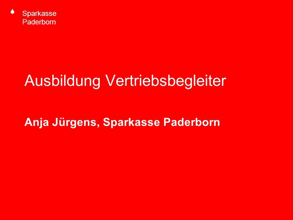 S Sparkasse Paderborn Ausbildung Vertriebsbegleiter Anja Jürgens, Sparkasse Paderborn