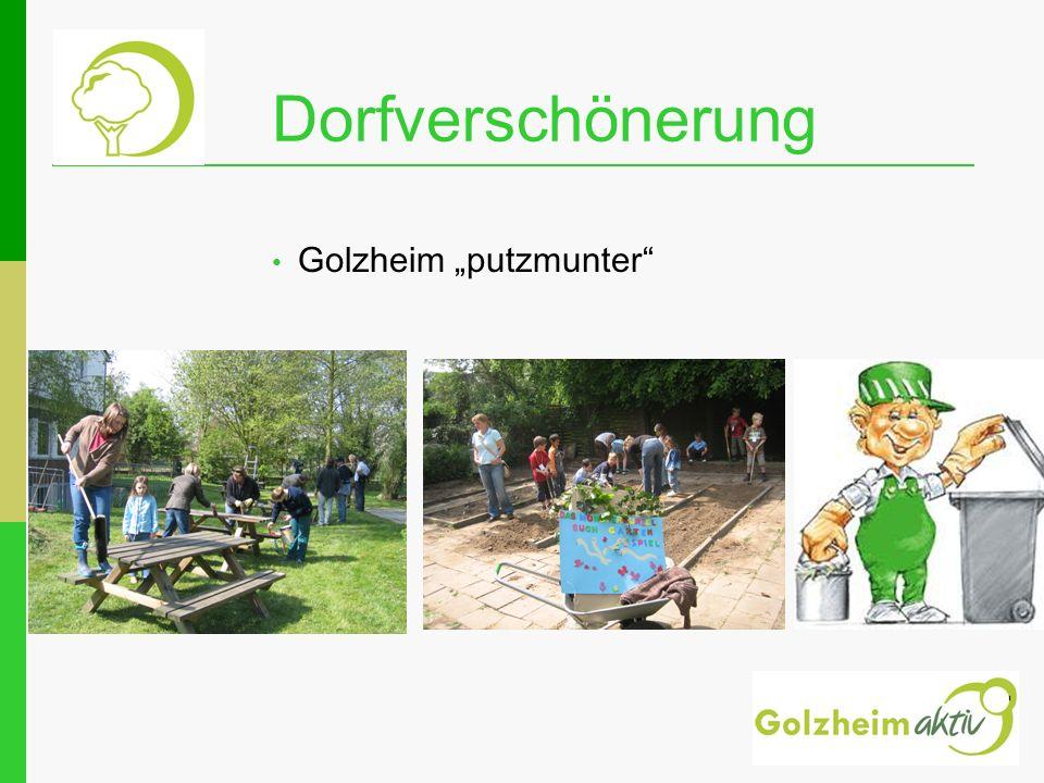 www.golzheimaktiv.de Veranstaltungskalender Garagentrödel Kinderflohmarkt Theatergruppe Pflanzen von 3 Gründungs-Bäumen am 15.