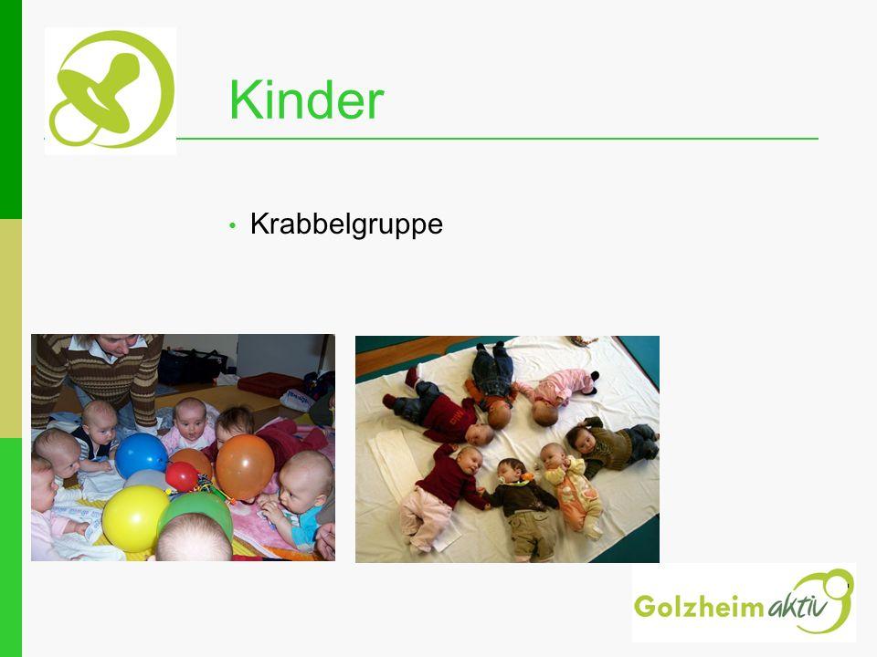 Krabbelgruppe Kinder