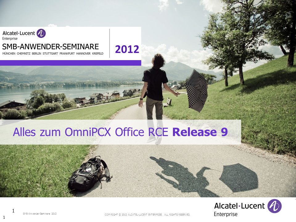 COPYRIGHT © 2012 ALCATEL-LUCENT ENTERPRISE.ALL RIGHTS RESERVED.