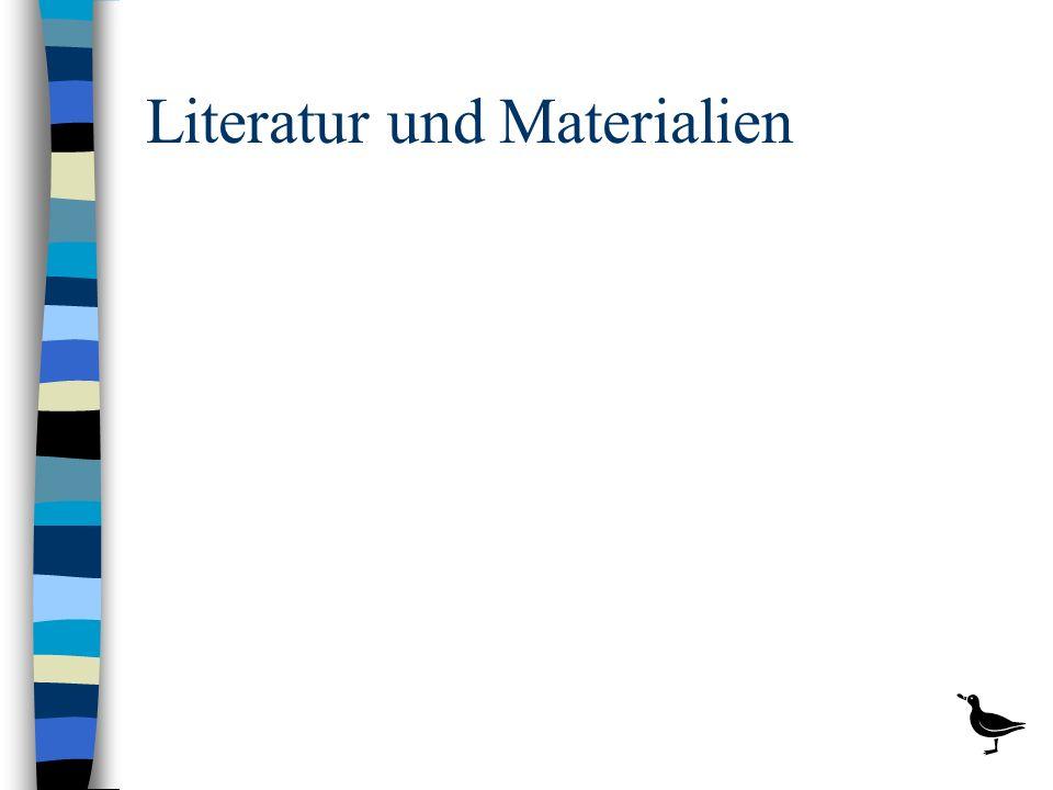 Literatur und Materialien