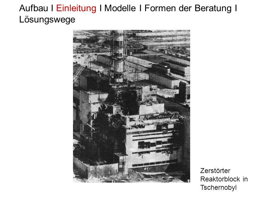 Aufbau I Einleitung I Modelle I Formen der Beratung I Lösungswege Bunte Titel 1986
