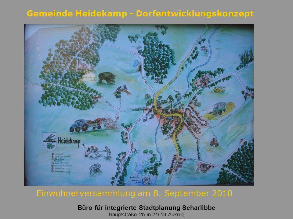 Gemeinde Heidekamp - Dorfentwicklungskonzept 12 BIS·S charlibbe Planung Entwicklung Beratung Projektsteuerung Bestand und Bewertung - Einzelmaßnahmen