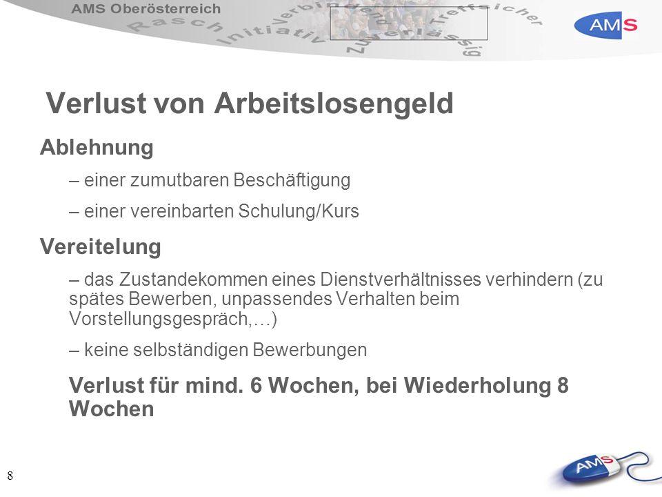 19 eJob-Room des AMS- Jobbörse im Internet rund um die Uhr verfügbar und kostenlos Suche nach offenen Stellen in Österreich und Europa große Auswahl an freien Arbeitsplätzen Bewerbungen erstellen + veröffentlichen (inkl.