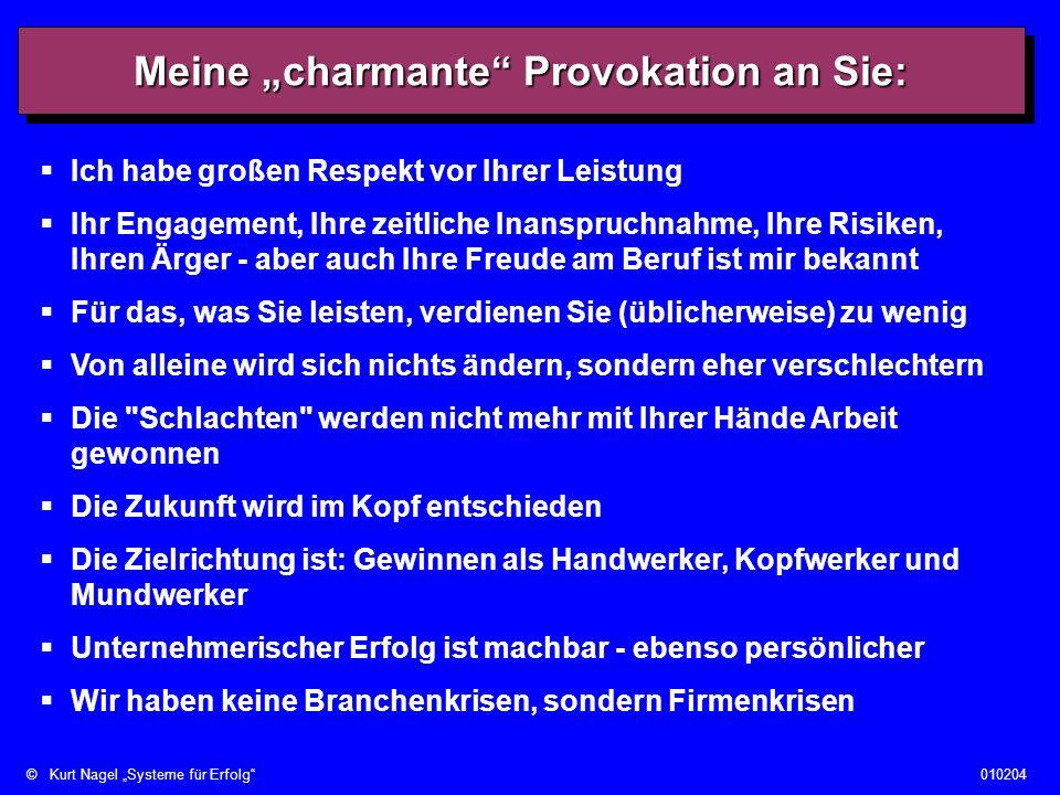 ©Kurt Nagel Systeme für Erfolg010204 5.