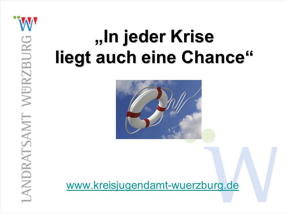 In jeder Krise liegt auch eine Chance www.kreisjugendamt-wuerzburg.de