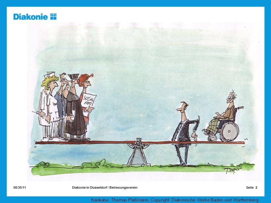 08/30/11 Seite 2Diakonie in Düsseldorf / Betreuungsverein Karikatur: Thomas Plaßmann, Copyright: Diakonische Werke Baden und Württemberg