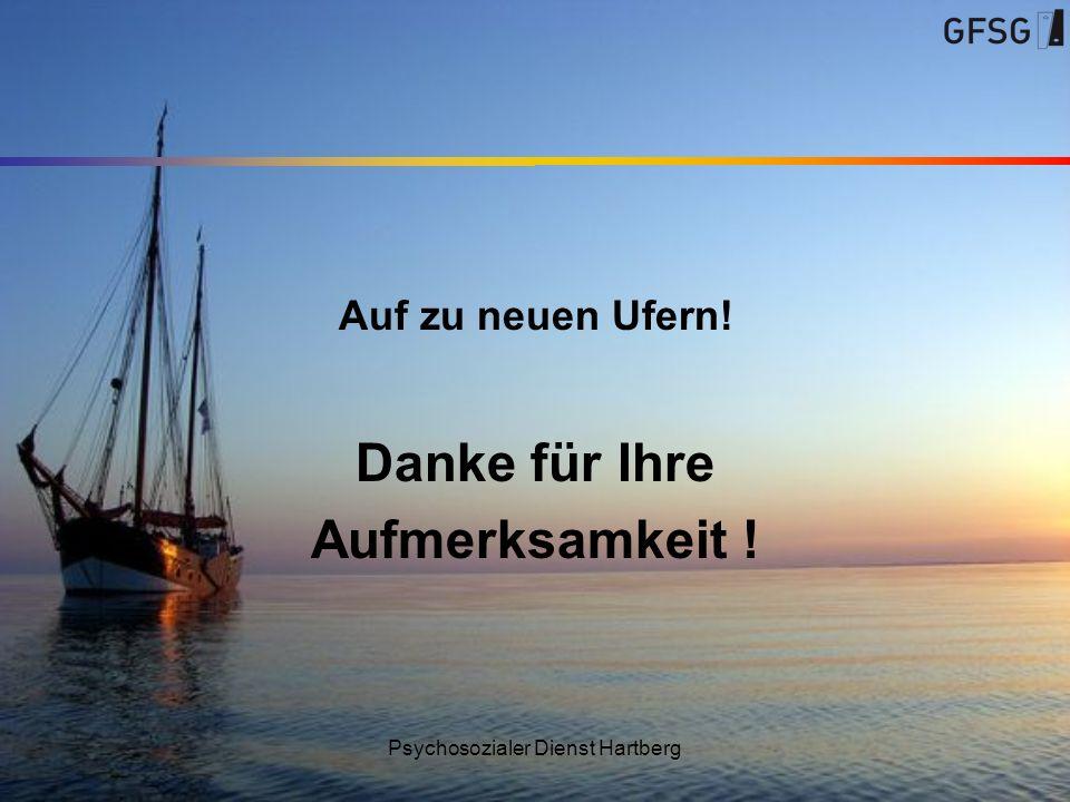 Psychosozialer Dienst Hartberg Auf zu neuen Ufern! Danke für Ihre Aufmerksamkeit !