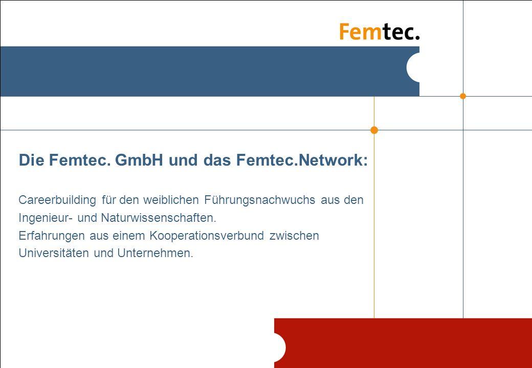 21.04.2008 2 Femtec.GmbH Die Femtec.