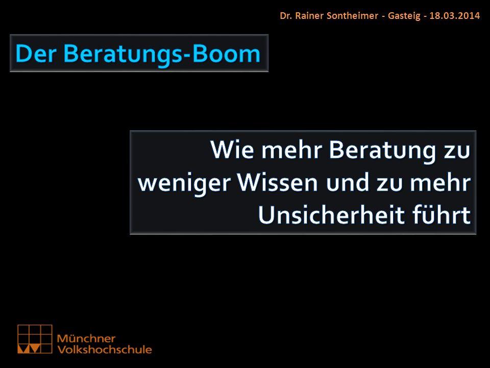 Dr. Rainer Sontheimer - Gasteig - 18.03.2014