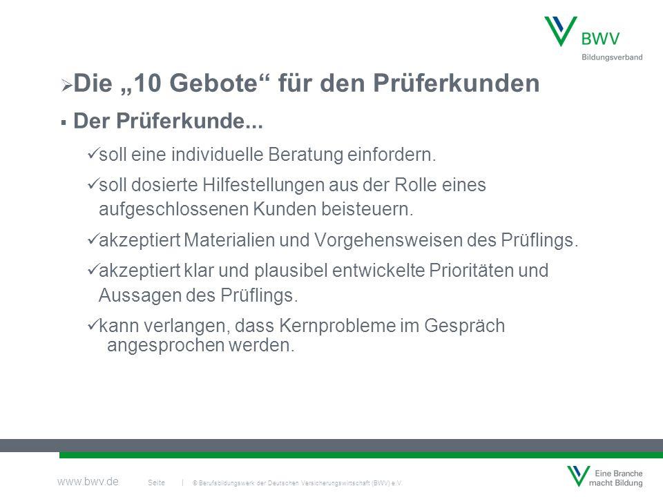 © Berufsbildungswerk der Deutschen Versicherungswirtschaft (BWV) e.V.