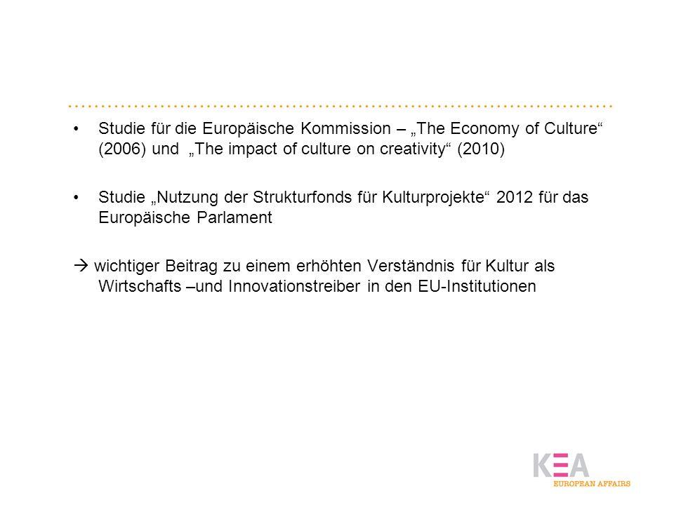 Kultur-und Kreativwirtschaft im Vergleich mit anderen Branchen