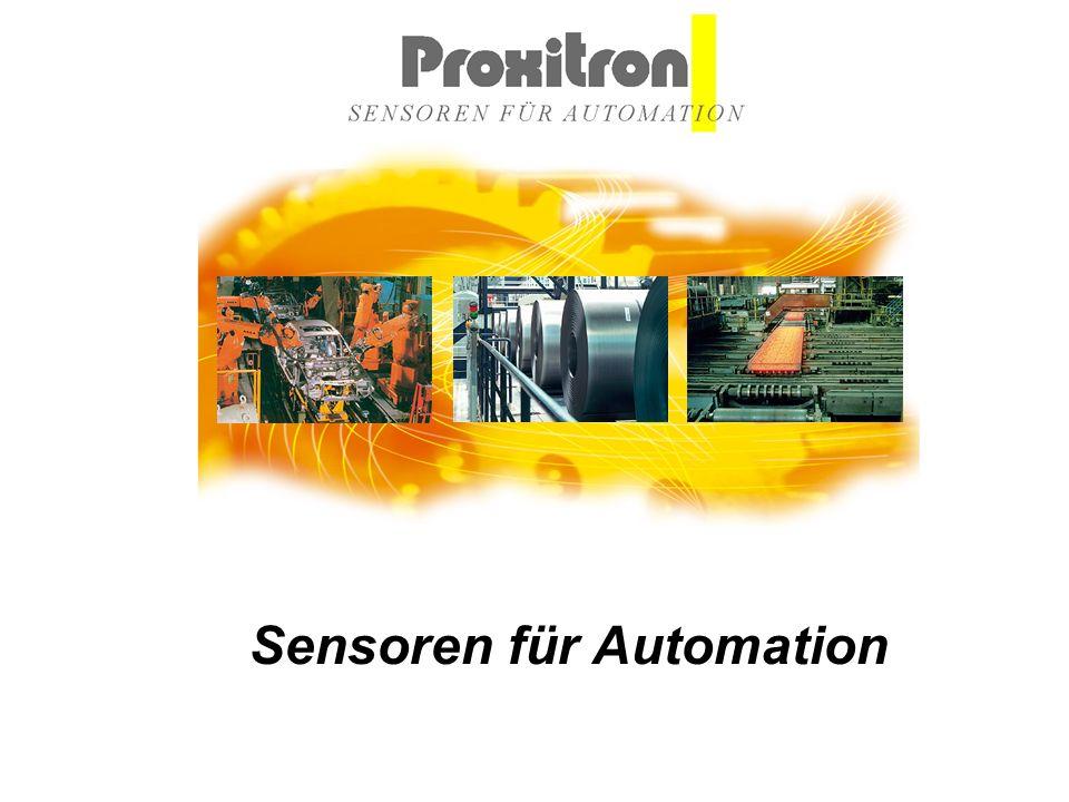 Proxitron GmbH | Gärtnerstraße 10 | D-25335 Elmshorn Fon: 04121 2621-0 | Fax: 04121 24404 | E-Mail: mail@proxitron.de | www.proxitron.de Wir über uns Proxitron ist ein weltweit tätiges Unternehmen auf dem Gebiet der Sensortechnik.