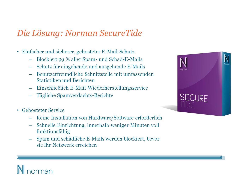 Warum Norman SecureTide?