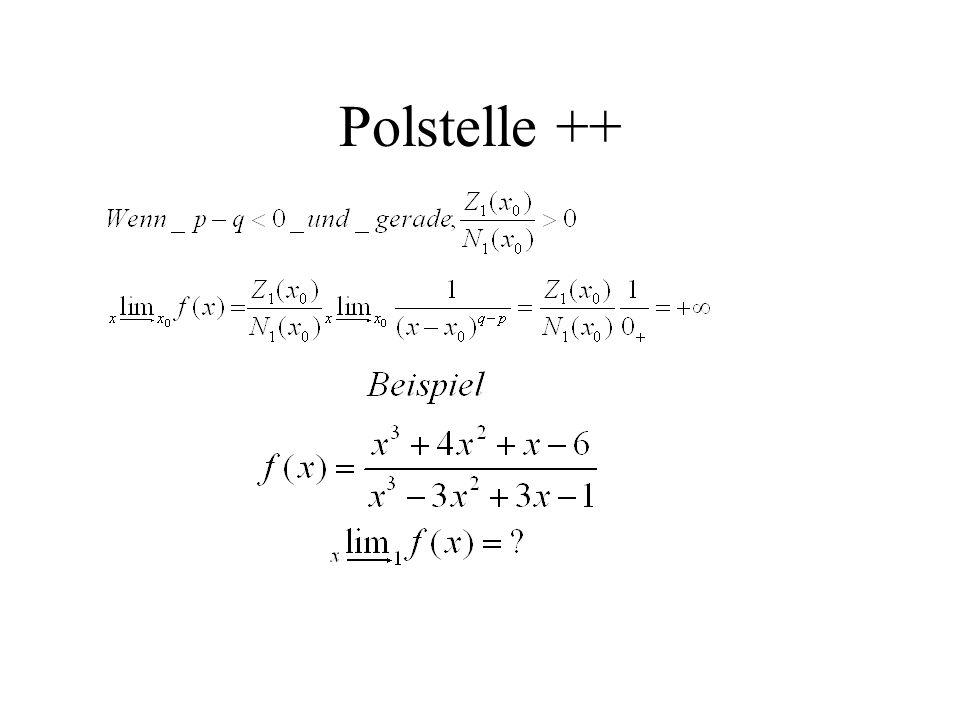 Polstelle ++