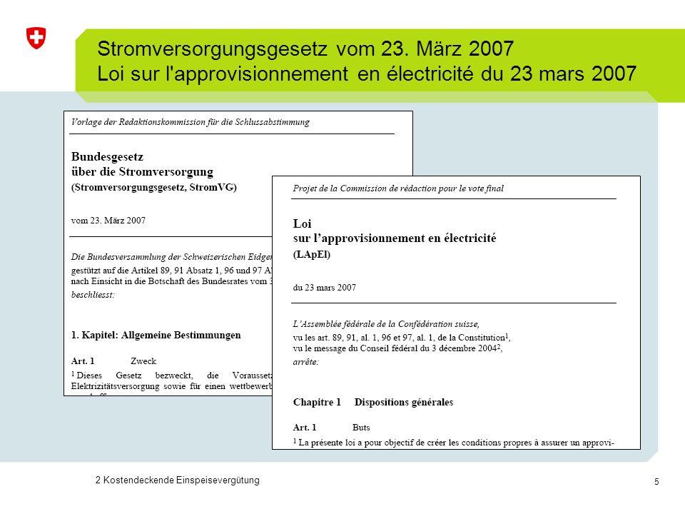 6 Energiegesetz Art.7a – Abnahmepflicht, Art.